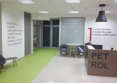 Adaptacija poslovnog prostora Petrol Crna Gora