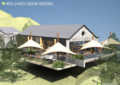 Turističko ugostiteljski objekat idejni projekat